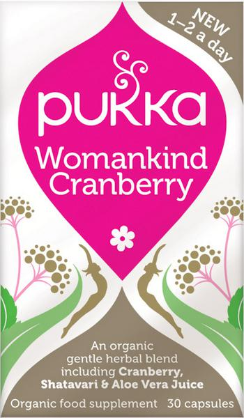 Womankind Cranberry Herbal Remedy Vegan, ORGANIC