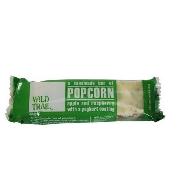Popcorn Apple & Raspberry Snackbar Yoghurt Coated