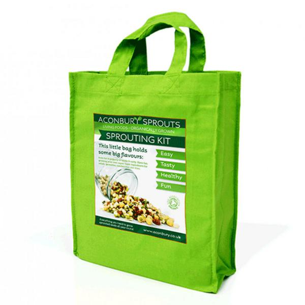 Living Foods Sprouter Kit , ORGANIC