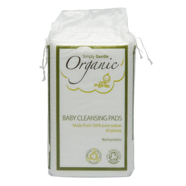 Baby Cotton Cleanser Pads FairTrade, ORGANIC