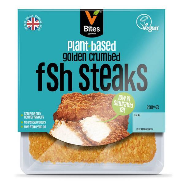Fishless Steak Making Waves dairy free, Vegan