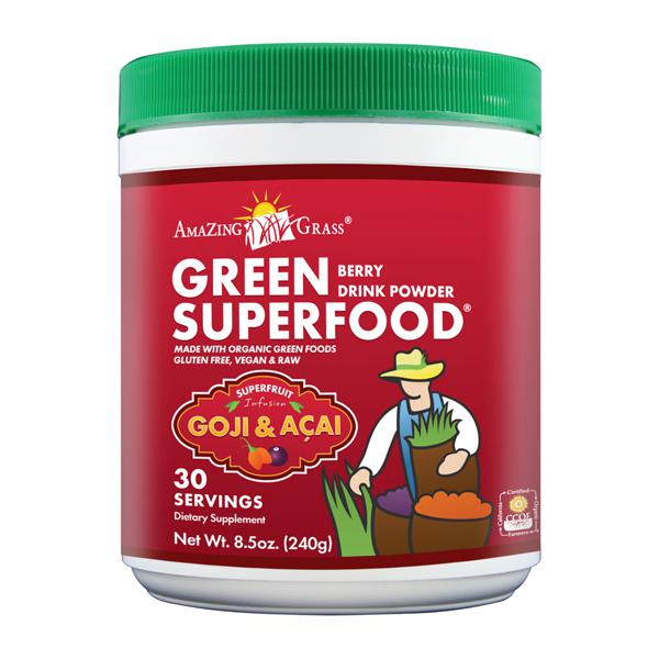 Berry Green Superfood Supplement Powder
