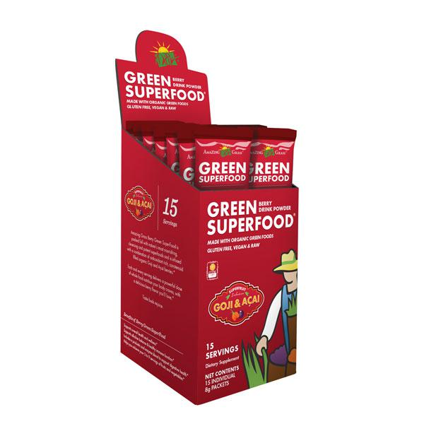 Berry Green Superfood Supplement Powder ORGANIC