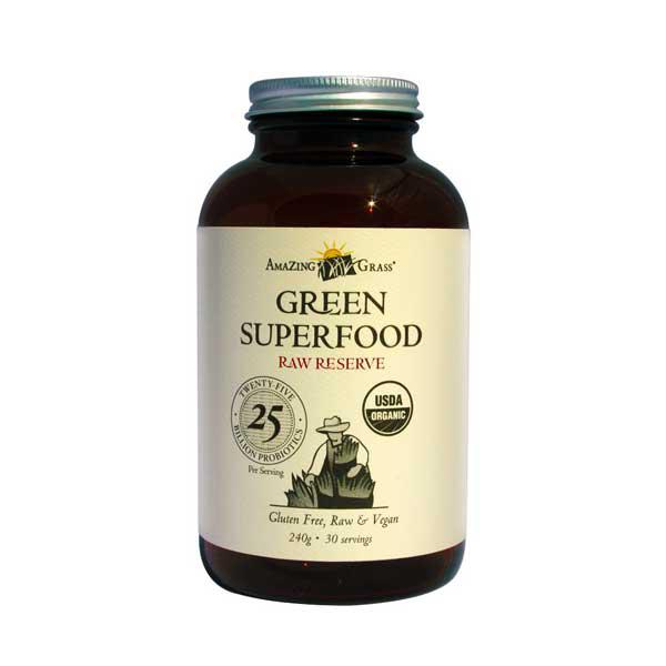 Raw Reserve Green Superfood Supplement Powder ORGANIC