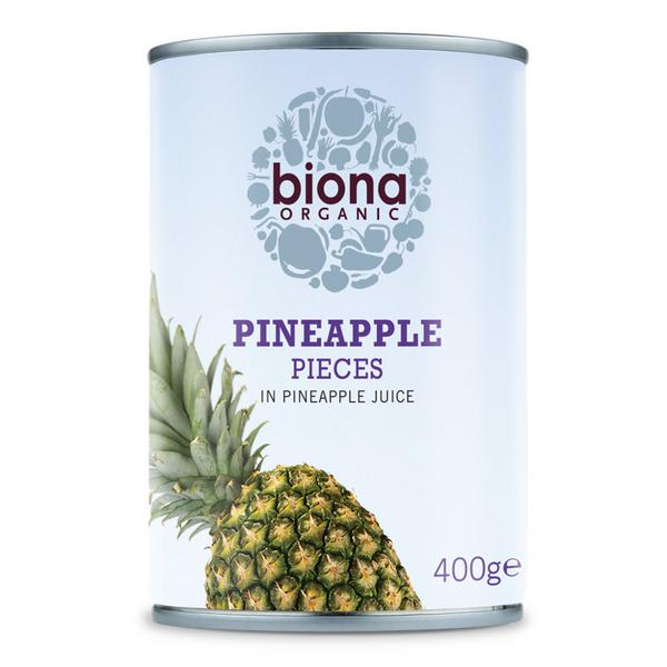 Pineapple Pieces in Juice ORGANIC