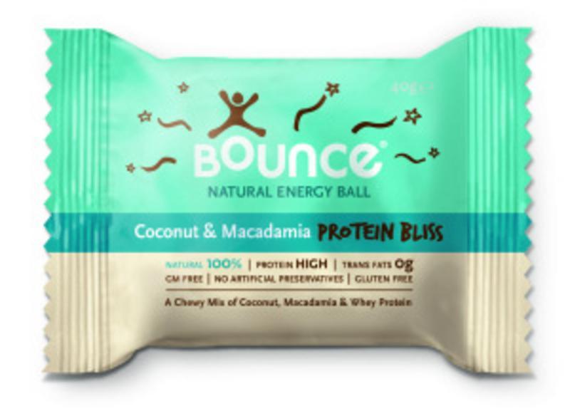 Coconut & Macadamia Protein Balls Gluten Free