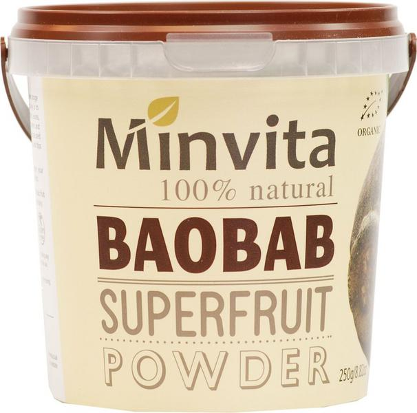 Baobab Fruit Superfood Powder dairy free, Gluten Free, Vegan, wheat free, ORGANIC