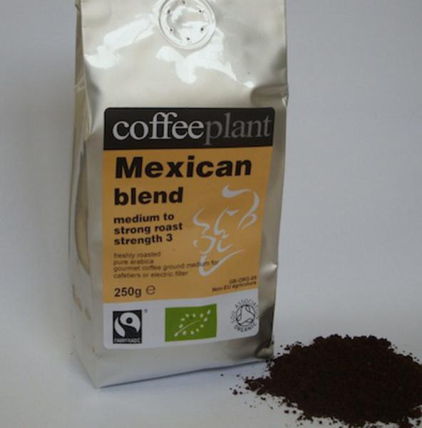 Mexican Blend Ground Coffee FairTrade, ORGANIC