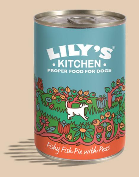 Fishy Fish Pie Dog Food