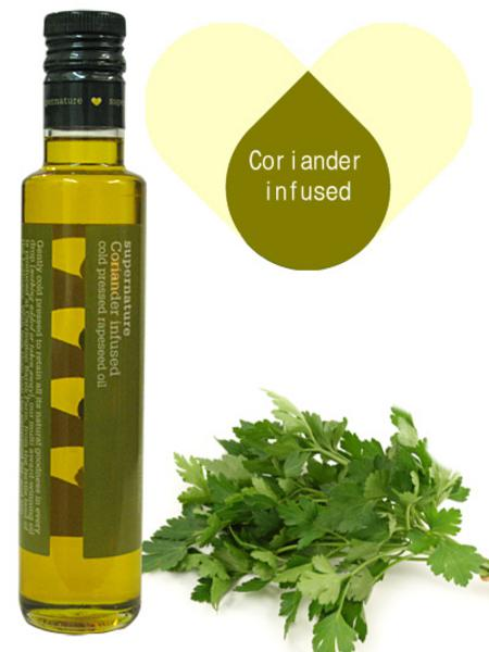 Coriander Infused Rapeseed Oil
