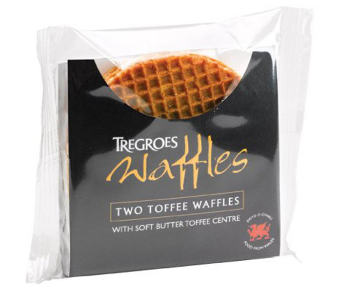 Butter Toffee Waffles