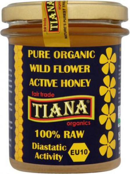 Raw Active Wildflower Honey FairTrade