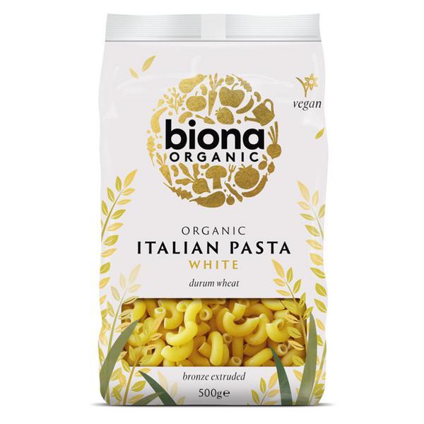 Bronze Extruded White Macaroni Pasta ORGANIC