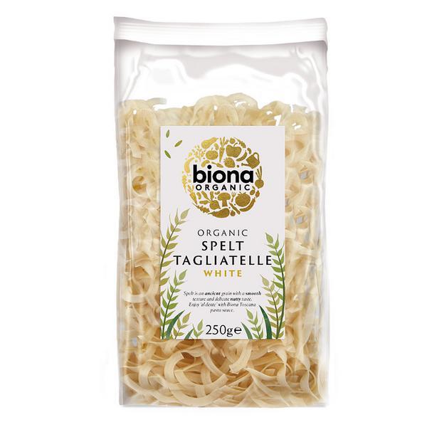 White Spelt Tagliatelle Pasta ORGANIC