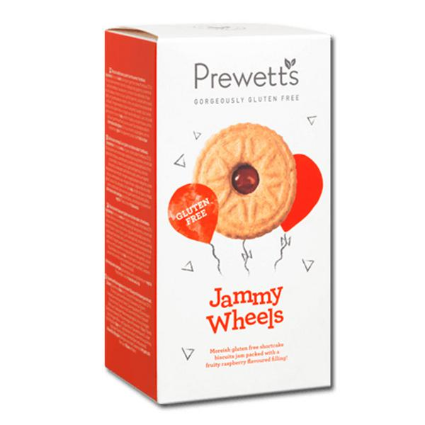Jammy Wheels Biscuits Gluten Free