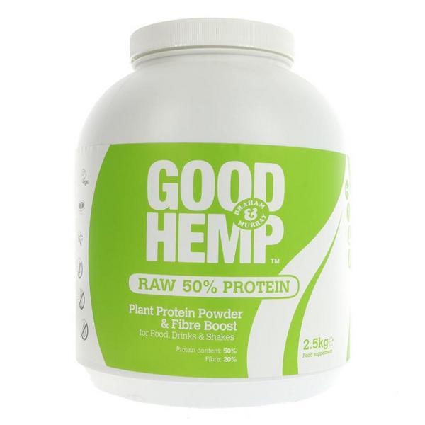 Natural Hemp Protein Powder 50% Vegan