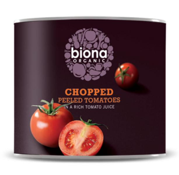 Chopped Tomatoes Catering Size ORGANIC