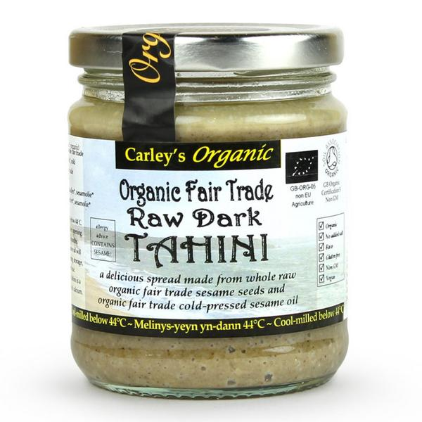 Dark Tahini Raw no added salt, ORGANIC