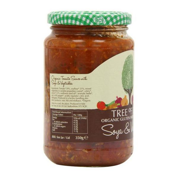 Vegetable Bolognese Pasta Sauce Gluten Free, ORGANIC image 2