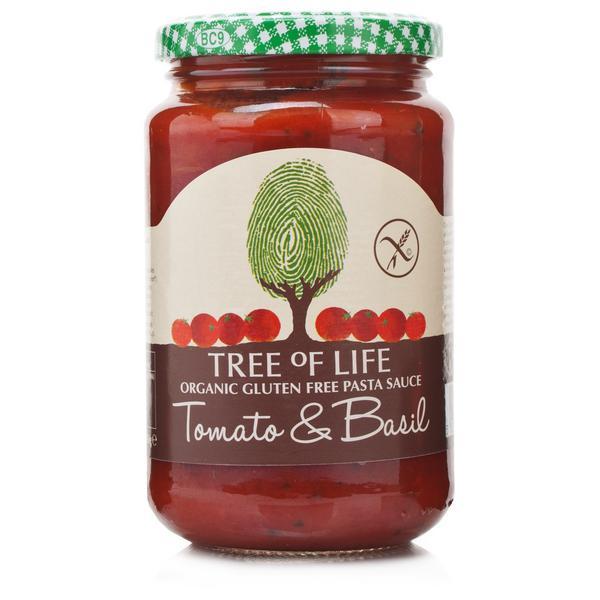 Tomato and Basil Pasta Sauce Gluten Free, Vegan, ORGANIC