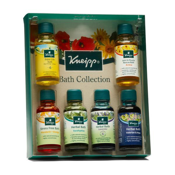 Bath Oil Herbal Collection