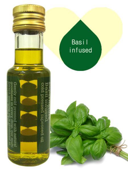 Basil Infused Rapeseed Oil