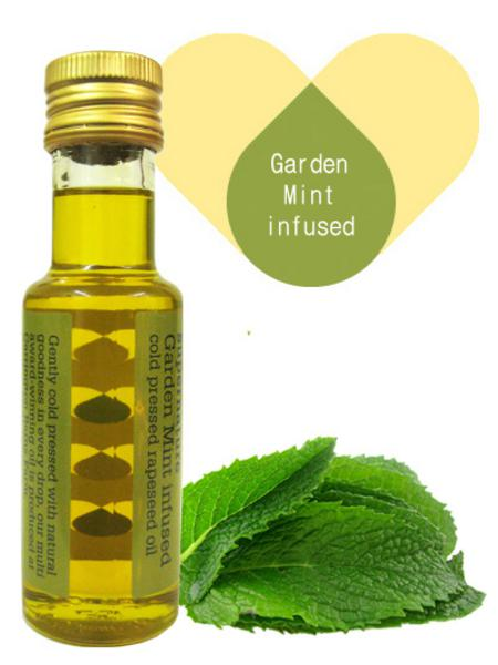 Garden Mint Infused Rapeseed Oil