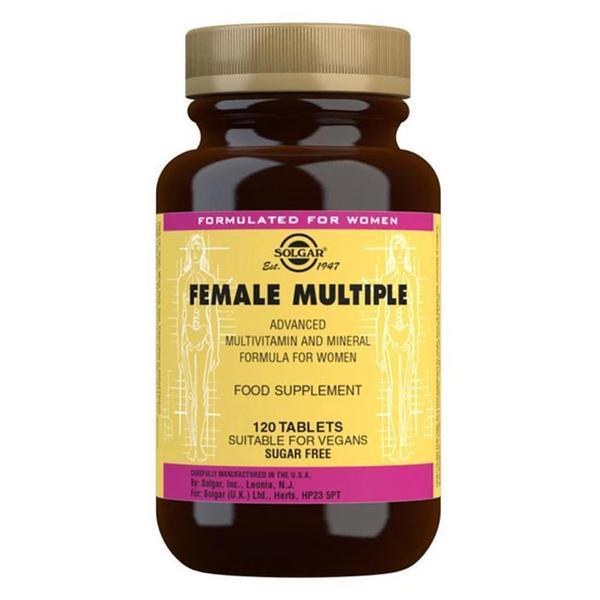 Female Multiple Multi Vitamins Gluten Free, Vegan