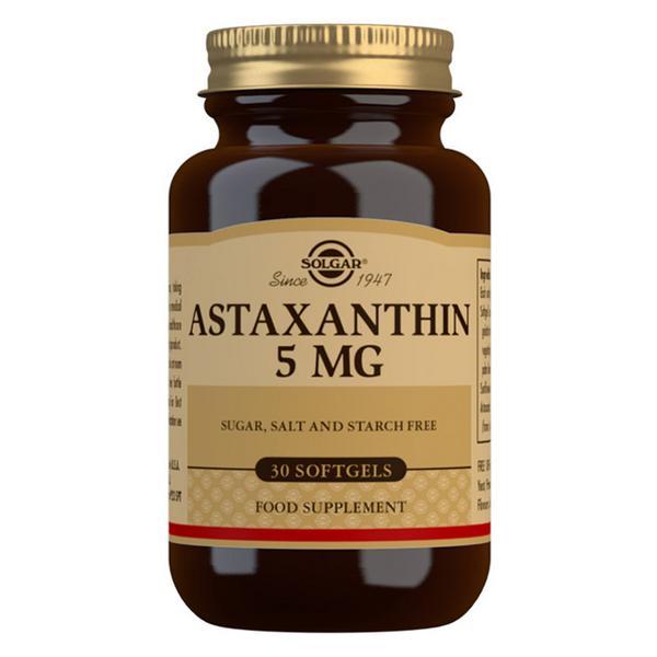 Astaxanthin Antioxidants 5mg