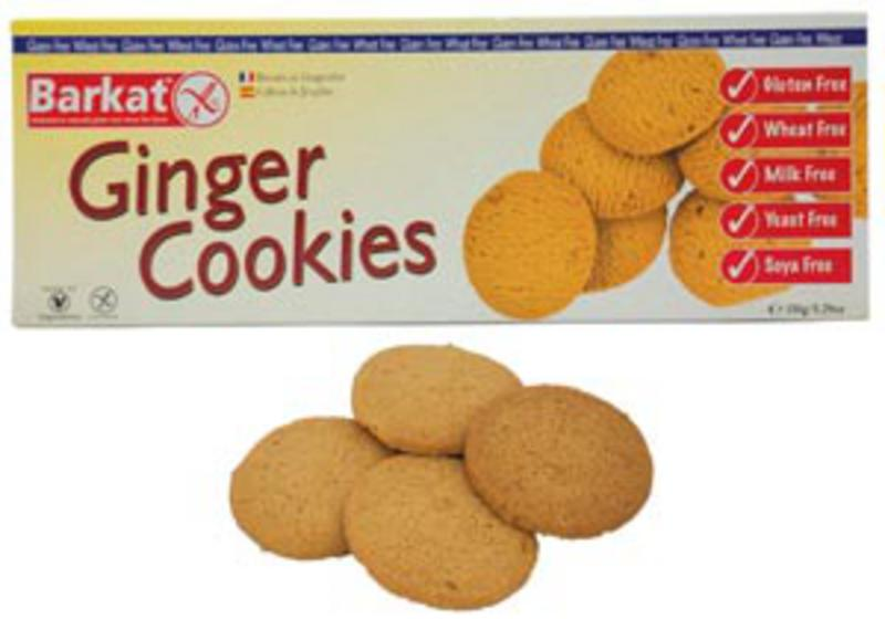 Ginger Cookies dairy free, Gluten Free