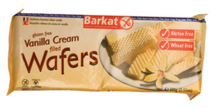 Vanilla Cream Filled Wafers Gluten Free