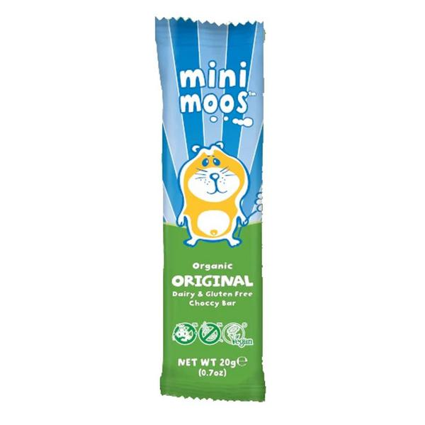 Alternative to Chocolate Mini Moo Gluten Free, Vegan, ORGANIC