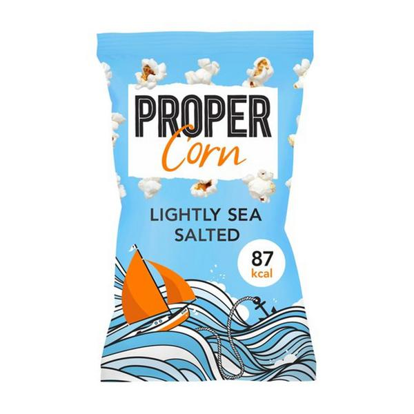 Lightly Sea Salted Popcorn Gluten Free, Vegan