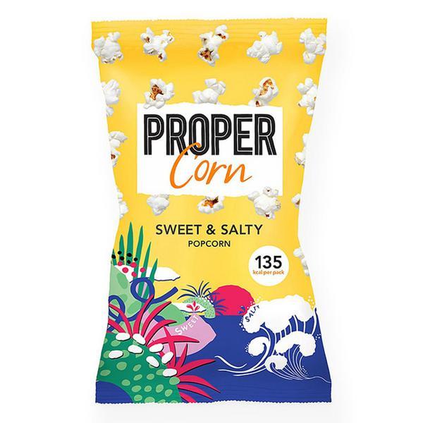 Sweet & Salty Popcorn Gluten Free, Vegan