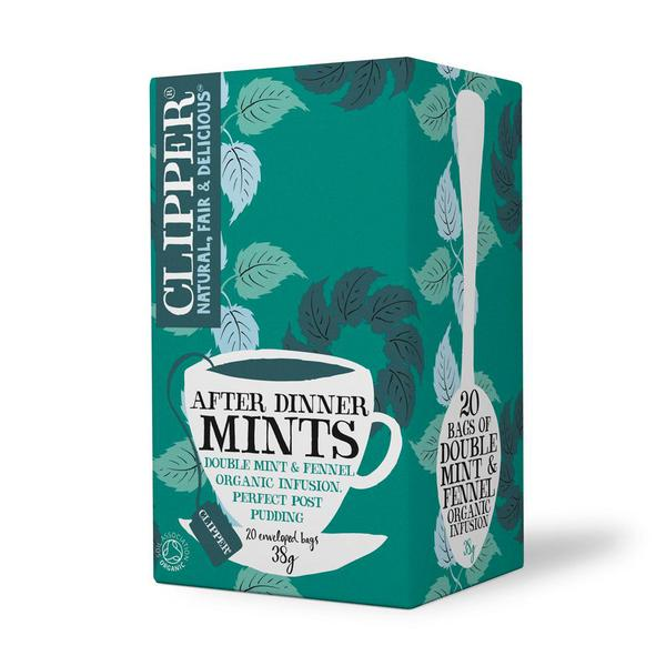 After Dinner Mints T-Bags Decaffeinated, ORGANIC