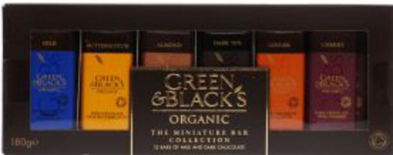 Dark Chocolate Collection Miniatures FairTrade, ORGANIC