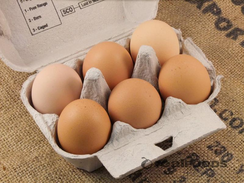 Free Range Eggs Medium Scotland ORGANIC image 2