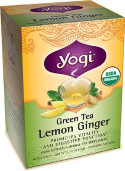 Lemon & Ginger Green Tea ORGANIC