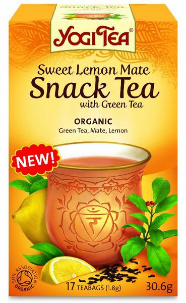 Sweet Lemon & Mate Green Snack T-Bags ORGANIC