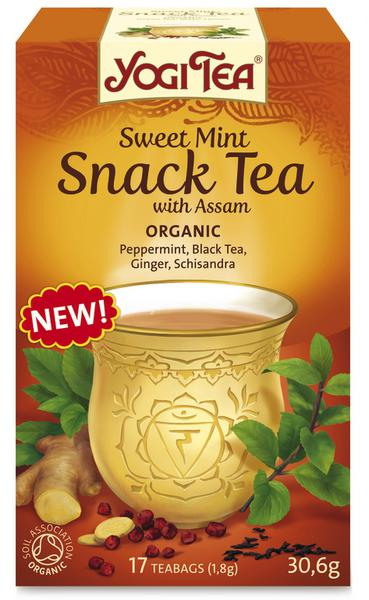 Sweet Mint Snack T-Bags With Assam ORGANIC