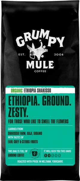 Shakisso Ethiopia Ground Coffee FairTrade, ORGANIC