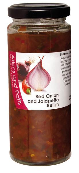 Red Onion & Jalapeno Relish Gluten Free, Vegan