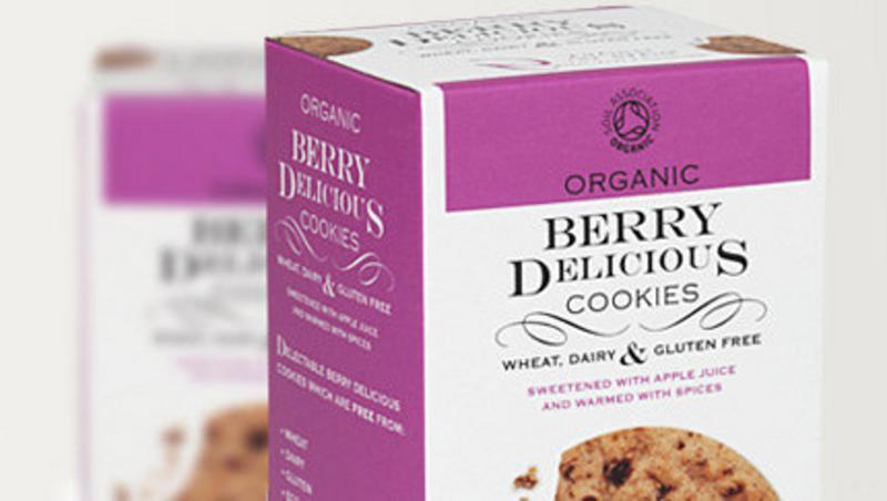 Berry Delicious Cookies Gluten Free, Vegan, ORGANIC