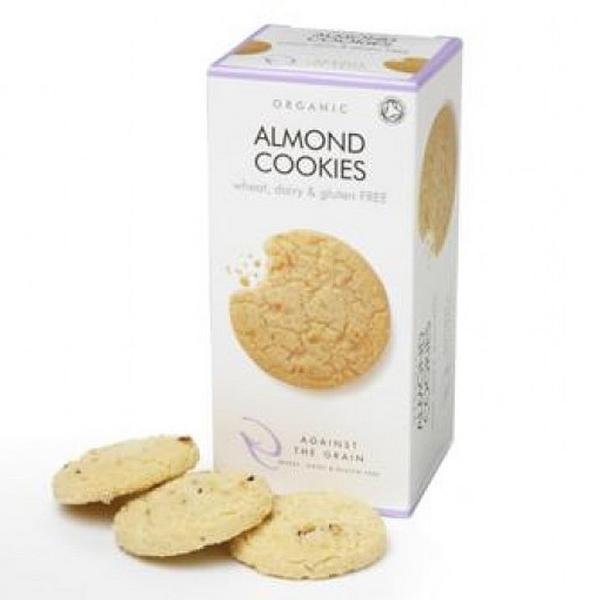 Almond Cookies dairy free, Gluten Free, ORGANIC