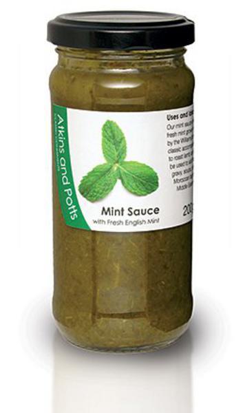 Fresh English Mint Sauce Gluten Free, Vegan