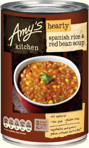 Hearty Spanish Rice & Red Bean Soup Gluten Free, ORGANIC