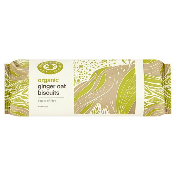 Ginger Oat Biscuits ORGANIC