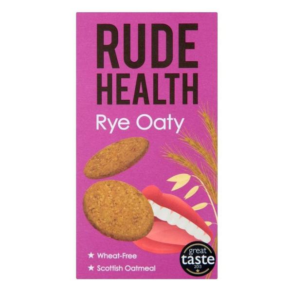 Rye Oaty Biscuits wheat free