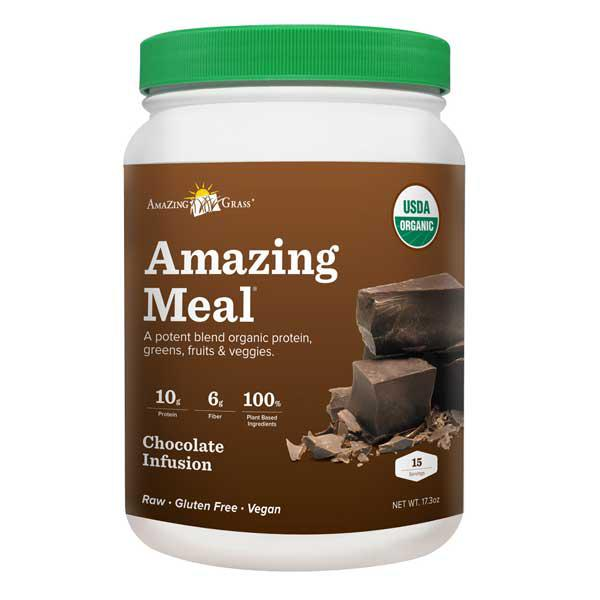 Chocolate Amazing Meal Supplement Powder ORGANIC