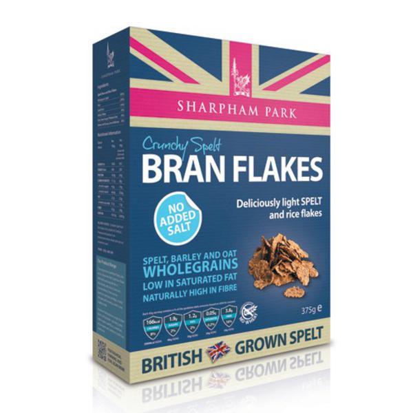Crunchy Spelt Bran Flakes